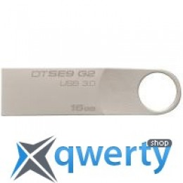 Kingston 16GB DataTraveler SE9 G2 Metal Silver USB 3.0 (DTSE9G2/16GB)