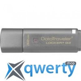 Kingston 32GB DataTraveler Locker+ G3 USB 3.0 (DTLPG3/32GB)