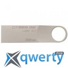 Kingston 32GB DataTraveler SE9 G2 Metal Silver USB 3.0 (DTSE9G2/32GB)