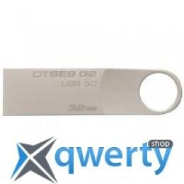 Kingston 32GB DataTraveler SE9 G2 Metal Silver USB 3.0 (DTSE9G2/32GB)