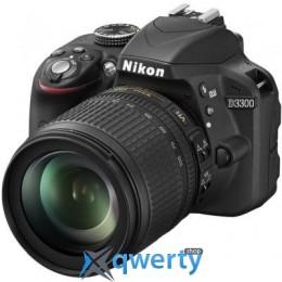 NIKON D3300 KIT AF-S DX 18-105 VR (VBA390K005)