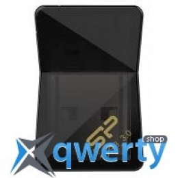 Silicon Power 16Gb Jewel J08 Black USB 3.0 (SP016GBUF3J08V1K)