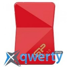 Silicon Power 16Gb Jewel J08 Red USB 3.0 (SP016GBUF3J08V1R)