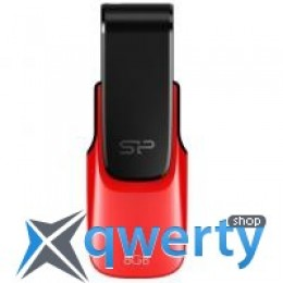Silicon Power 8Gb Ultima U31 Red USB 2.0 (SP008GBUF2U31V1R)