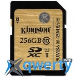 Kingston 256GB SDXC class 10 UHS| U1 (SDA10/256GB)