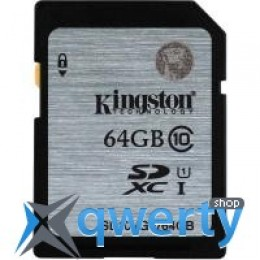 Kingston 64GB SDXC Class10 UHS-I (SD10VG2/64GB)