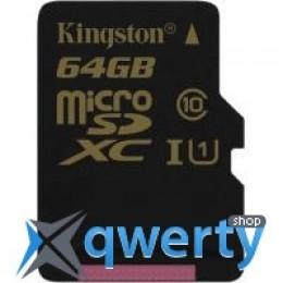 Kingston 64GB microSD Class10 UHS-I U1 (SDCA10/64GBSP)