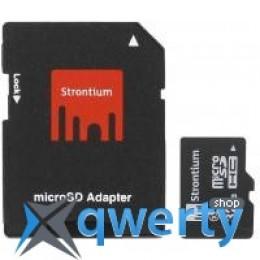 STRONTIUM Flash 32GB microSD class10 (SR32GTFC10A)