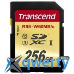Transcend 256Gb SDXC Class10 UHS-I U3 (TS256GSDU3)