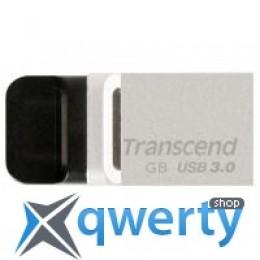 Transcend 32GB JetFlash OTG 880 Metal Silver USB 3.0 (TS32GJF880S)
