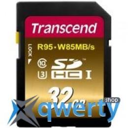 Transcend 32GB SDHC class 10 UHS-I U3 (TS32GSDU3X)