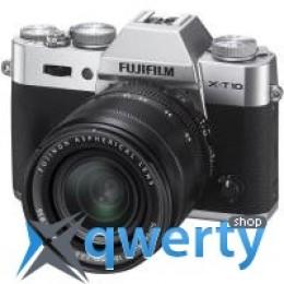 Fujifilm X-T10 + XF 18-55mm F2.8-4R Kit Silver (16471457) Официальная гарантия!