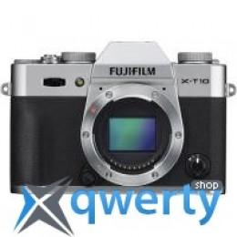 Fujifilm X-T10 body Silver (16470312) Официальная гарантия!