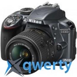 Nikon D3300 Kit 18-55VR II + 55-200VR II (VBA390K007) Официальная гарантия!