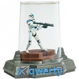 Star Wars TITANIUM DIECAST Blue Clone Trooper