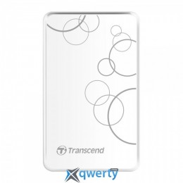 Transcend StoreJet 25A3 2TB TS2TSJ25A3W 2.5 USB 3.0 External White