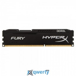 Kingston 8GB DDR3L-1866 PC3-14928 HyperX FURY Black (HX318LC11FB/8)