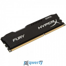 Kingston 8GB DDR3L-1600 PC3-12800 HyperX FURY Black (HX316LC10FB/8)