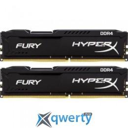 DDR4 8GB (2X4GB) 2666 MHZ FURY BLACK KINGSTON (HX426C15FBK2/8)