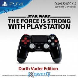 Sony PlayStation 4 Dualshok 4 Darth Vader Edition