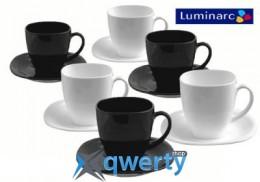 СЕРВИЗ LUMINARC CARINE WHITE&BLACK 220X6 ДЛЯ ЧАЯ D2371 купить в Одессе