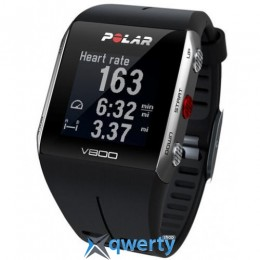 POLAR V800 BLACK GREY