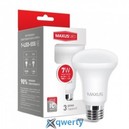 Maxus R63 7W мягкий свет 220V E27 (1-LED-555)