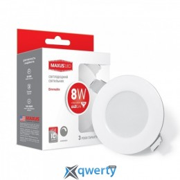 Maxus SDL mini, 8W мягкий свет (1-SDL-005-01-D)