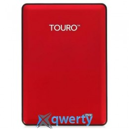 Hitachi (HGST) Touro S 1TB 7200rpm HTOSEA10001BCB_0S03779 2.5 USB 3.0 External Red