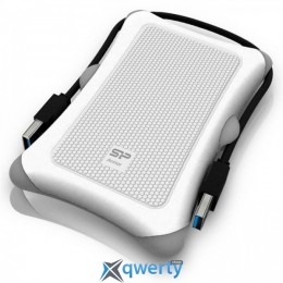 Silicon Power Armor A30 2TB SP020TBPHDA30S3W 2.5 USB 3.0 External White