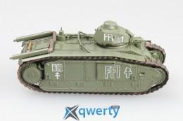 Модель французского тяжелого танка B1 (36157)