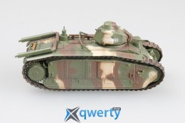 Модель французского тяжелого танка B1 (36160)