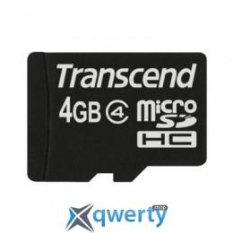 4Gb microSDHC class 4 Transcend (TS4GUSDC4)