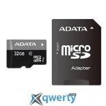 A-DATA 32Gb microSDHC Ultra UHS-I +SD адаптер Class 10 (AUSDH32GUICL10-RA1)