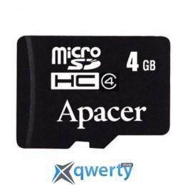 Apacer 4Gb microSDHC class 4 (AP4GMCSH4-RA)
