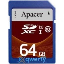 Apacer SDXC UHS-I Class10 64GB RP (AP64GSDXC10U1-R)