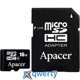 Apacer microSDHC Class4 16GB w/ 1 Adapter RP (AP16GMCSH4-R)