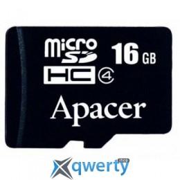 Apacer microSDHC Class4 16GB w/o Adapter RP (AP16GMCSH4-RA)