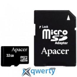 Apacer microSDHC Class4 32GB w/ 1 Adapter RP (AP32GMCSH4-R)