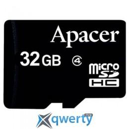 Apacer microSDHC Class4 32GB w/o Adapter RP (AP32GMCSH4-RA)