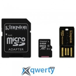 Kingston 64Gb microSDXC class 10 (MBLY10G2/64GB)