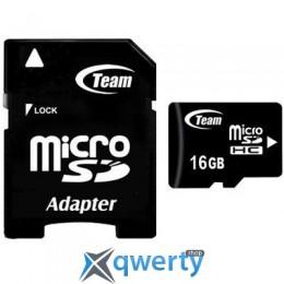 Team 16Gb microSDHC class 10 (TUSDH16GCL1003 / TG016G0MC28A)
