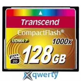 Transcend 128Gb Compact Flash 1000x (TS128GCF1000)