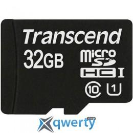 Transcend 32Gb microSDHC Class10 UHS-I (TS32GUSDCU1)