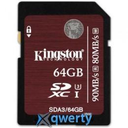 Kingston 64GB UHS-I Class3 (SDA3/64GB)