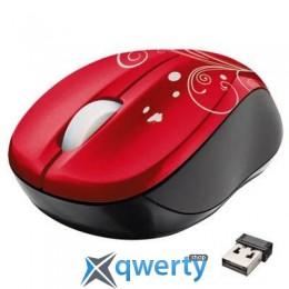 TRUST Vivy Wireless Mini Mouse - Red Swir (17355)