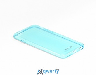 Kuboq Ultra thin TPU case Clear Shadow iPhone 6 (4,7') Blue (KQAPIP6FCSWBETPU)