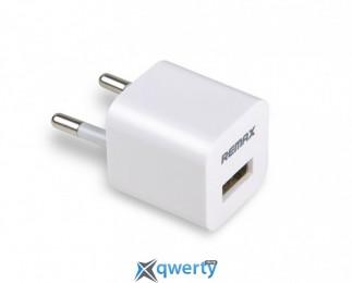 ЗУ стационарное Remax Cube white для iPhone евровилка, упаковка/блистер