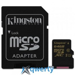 Kingston 64GB UHS-I Class10 (SDCA10/64GB)