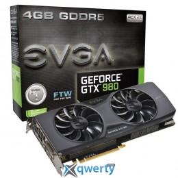 Evga Nvidia Geforce Gtx 980 4 GB FTW (04G-P4-2986-Kr)